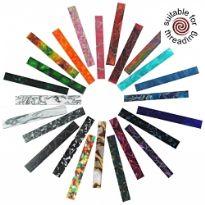 Chestnut acrylic pen blanks